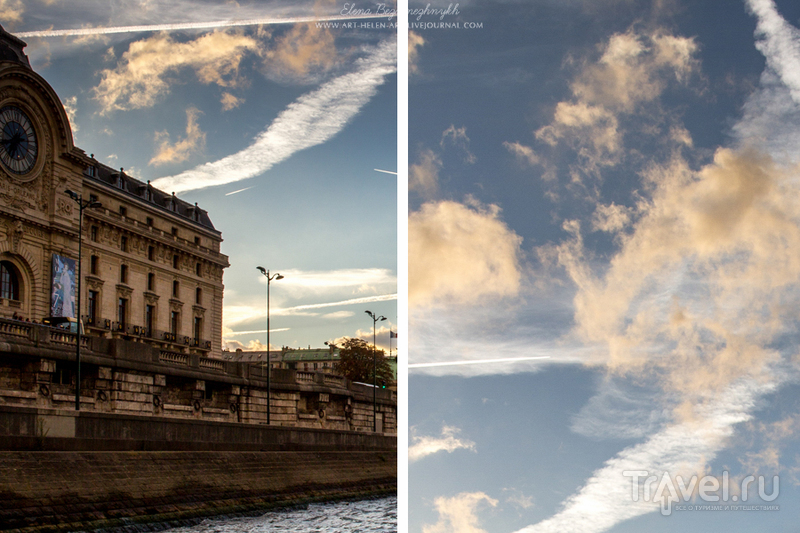 За час до сумерек. Париж / Франция