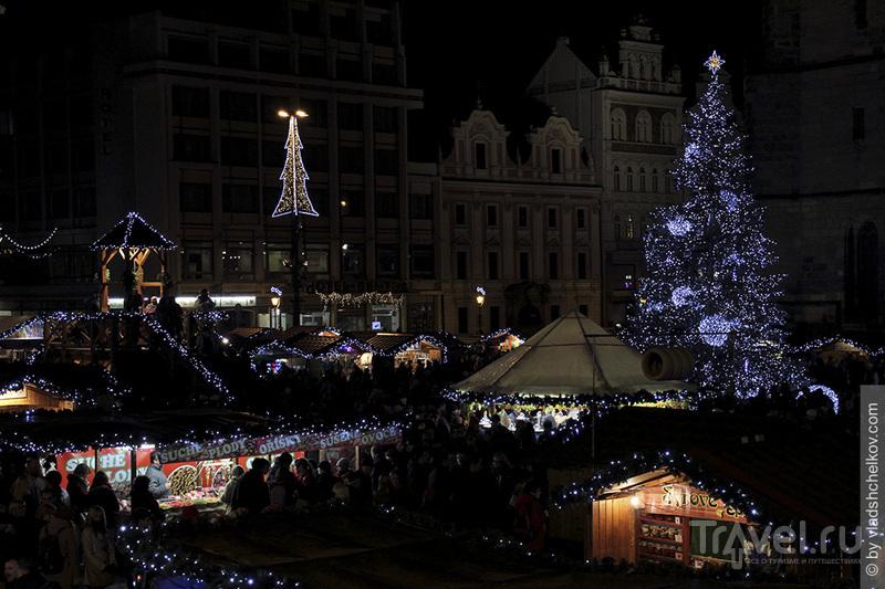 Рождественская ярмарка Плзень 2014 / Чехия