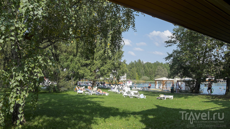 Курорт на озере Хевиз / Венгрия