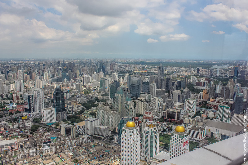 Взгляд на Бангкок свысока / Таиланд