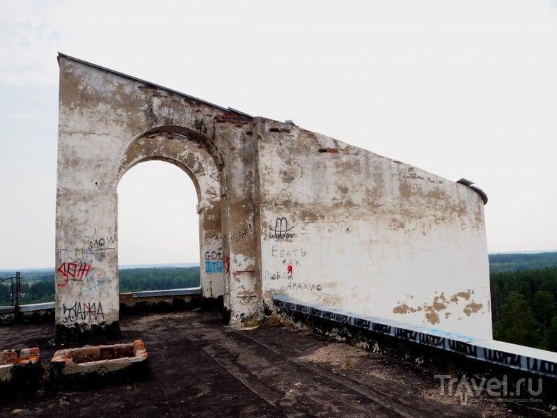 Заброшенный санаторий под Калязином / Россия