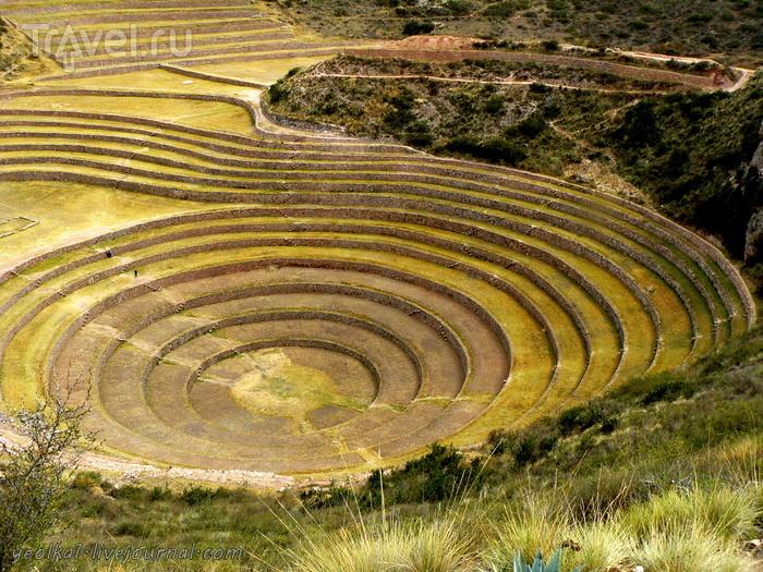 Перу. Морай - сельскохозяйственная лаборатория Инков / Перу