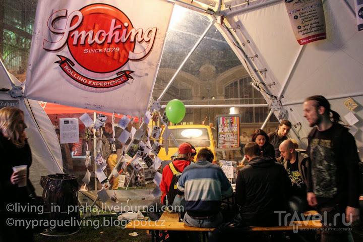 Cannafest - фестиваль конопли в Праге / Чехия