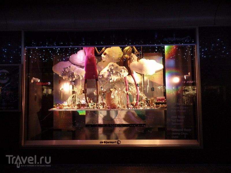 Витрины предрождественской Гааги / Нидерланды
