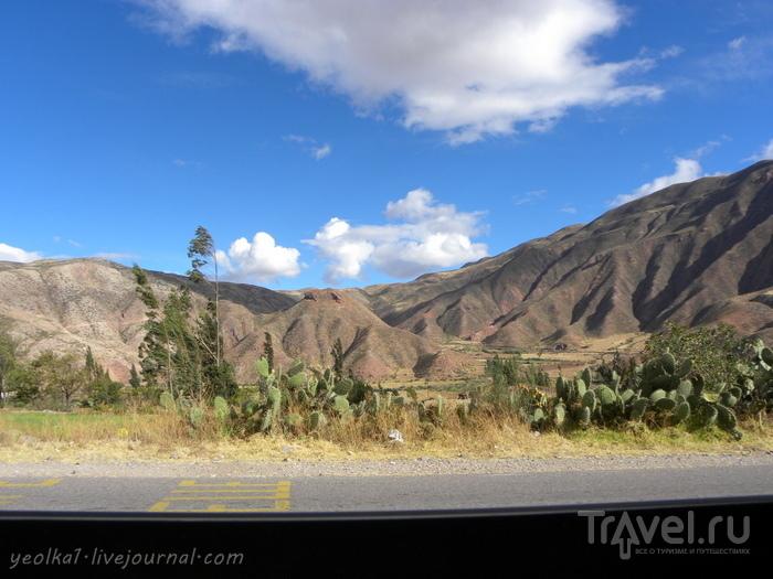 Un gran viaje a America del Sur. Перу. Valle Sagrado. Салинерас - тысячи соляных ванн / Перу