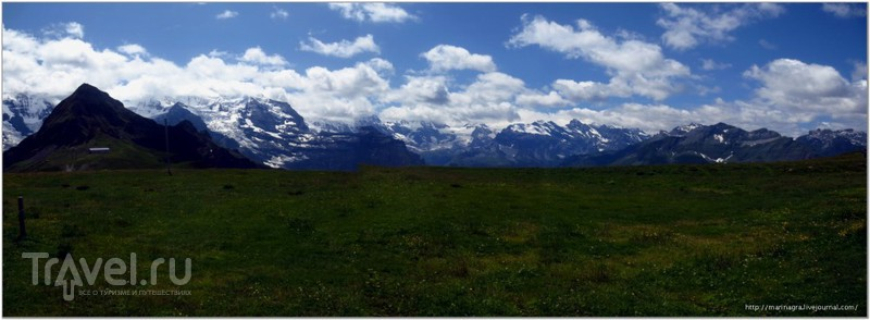 В Швейцарские Альпы с русскими  писателями и поэтами / Фото из Швейцарии