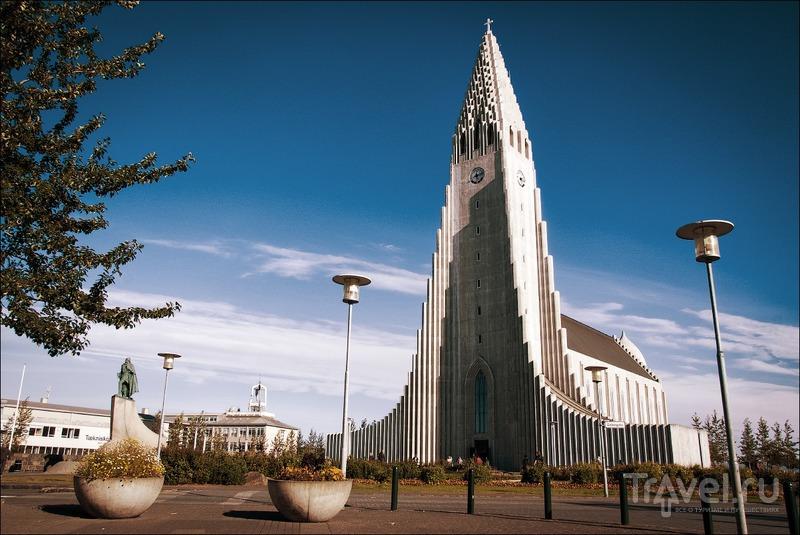 Исландия: столица и водопад Hraunfossar / Фото из Исландии
