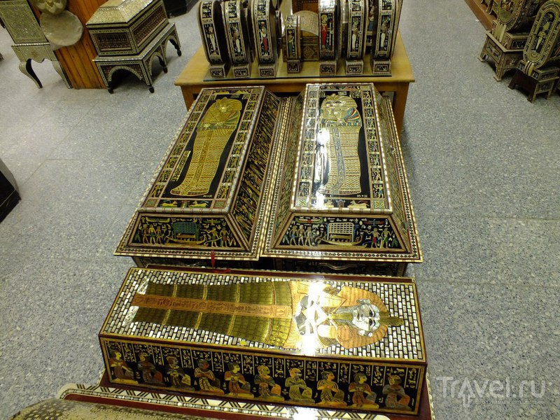 Лавка драгоценностей в старом городе Каира / Египет