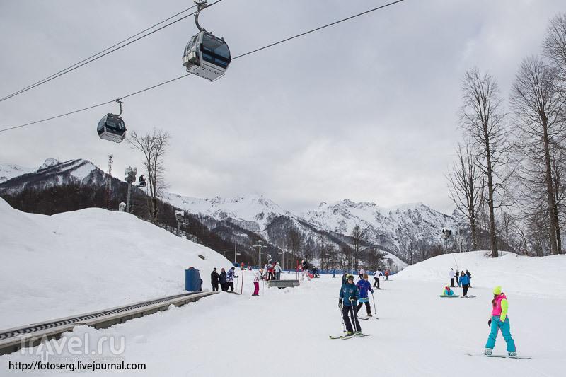 На Розе Хутор открыли горнолыжный сезон 2014-2015 / Россия