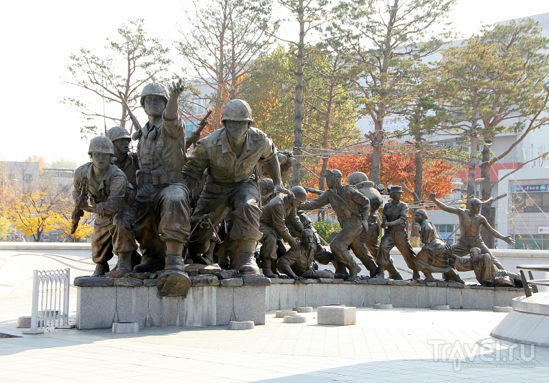 Музей войны (The war memorial of Korea) / Южная Корея