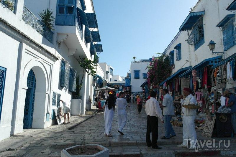 Сиди-Бу-Саид, Тунис - Белый город о котором очень преувеличивают... / Тунис