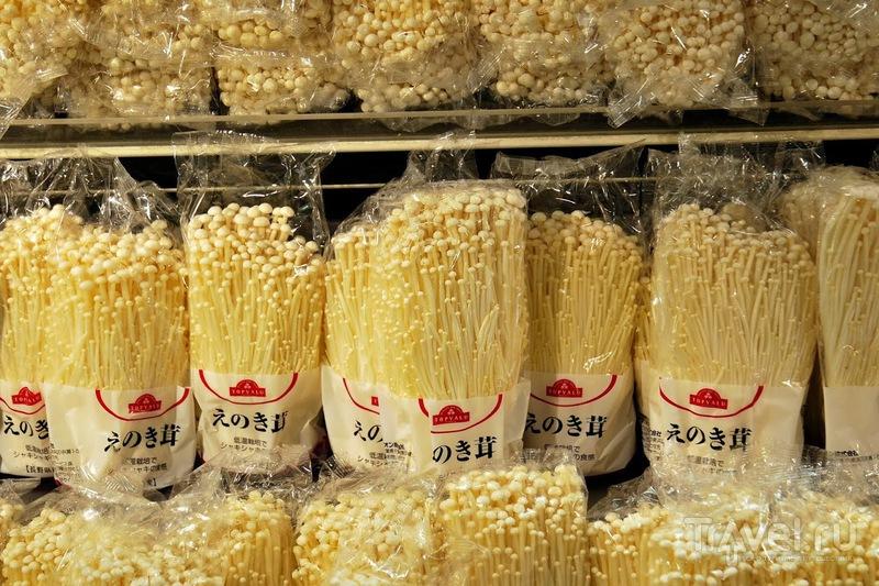 Супермаркет в Токио или что покупают японцы / Япония