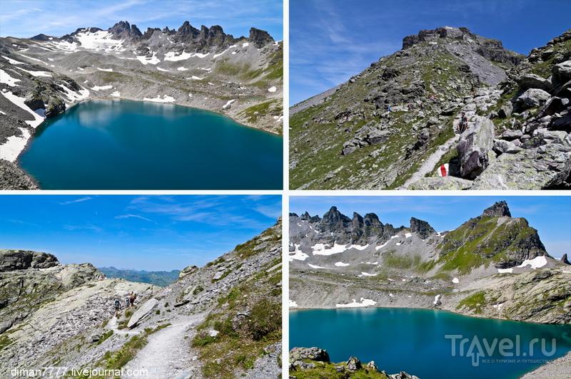 Прогулка по пяти озерам. Гора Pizol / Фото из Швейцарии