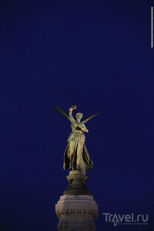 Закат и ночь в Ницце / Франция