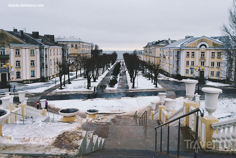 Силламяэ - эстонский город в 25 км от Нарвы / Эстония
