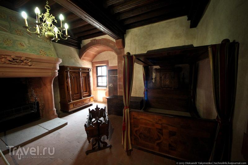 Château du Haut-Kœnigsbourg - самый знаменитый замок Эльзаса / Фото из Франции