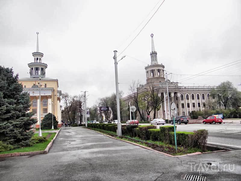 Прогулка по Бишкеку / Киргизия