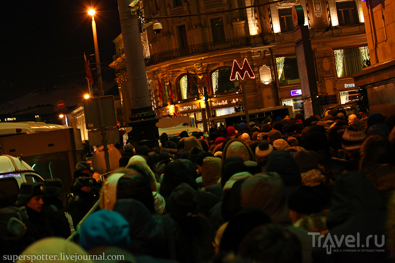 Москва новогодняя или добро пожаловать в Рождество / Фото из России