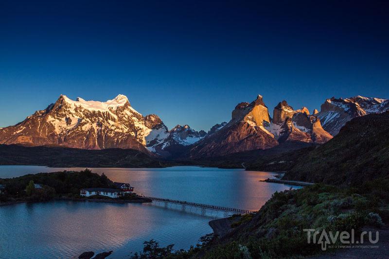 Виды заповедника Торрес-дель-Пайне / Чили
