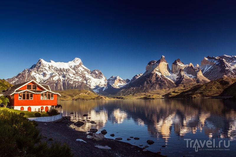 Гостевой дом в заповеднике / Чили