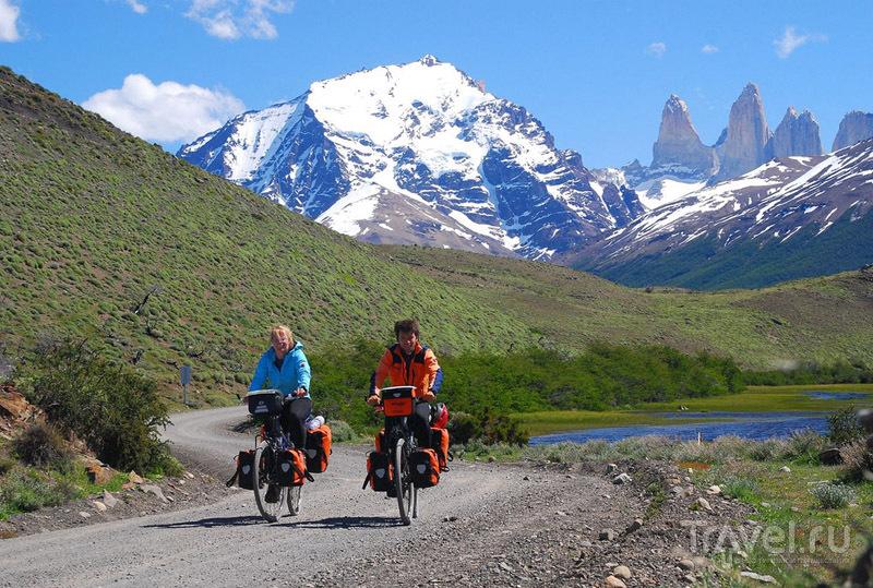 На велосипеде по Торрес-дель-Пайне / Чили