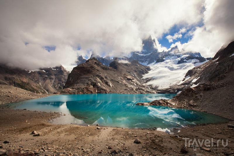 Лагуна-де-лос-Трес (Laguna de los Tres) / Чили