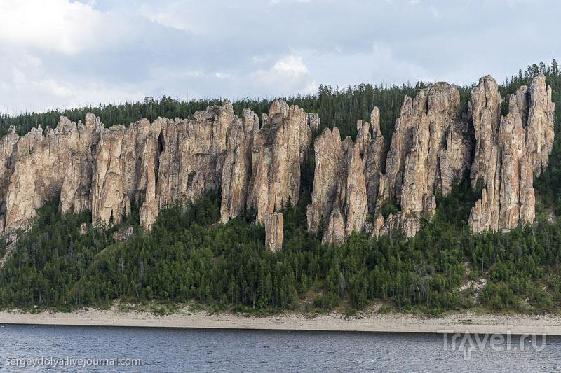 Ленские столбы: геологическая аномалия в Якутии / Россия