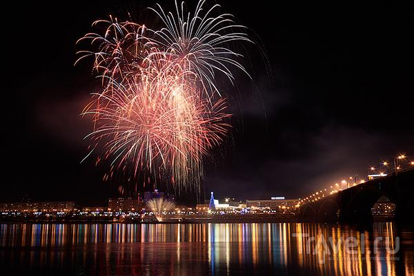 Рождество в Красноярске / Россия