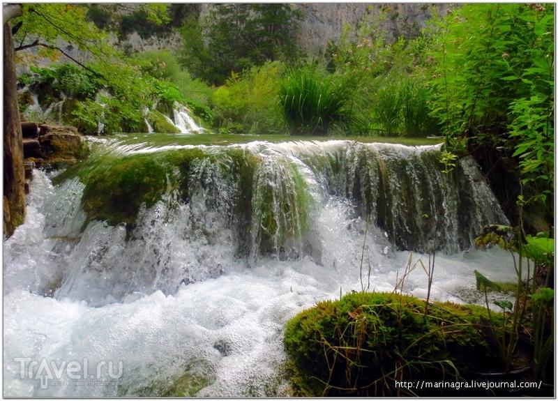 Плитвицкие озера: союз земли и воды / Фото из Хорватии