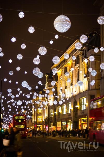 Лондонские огни и Кью Гарденс в Рождество / Великобритания