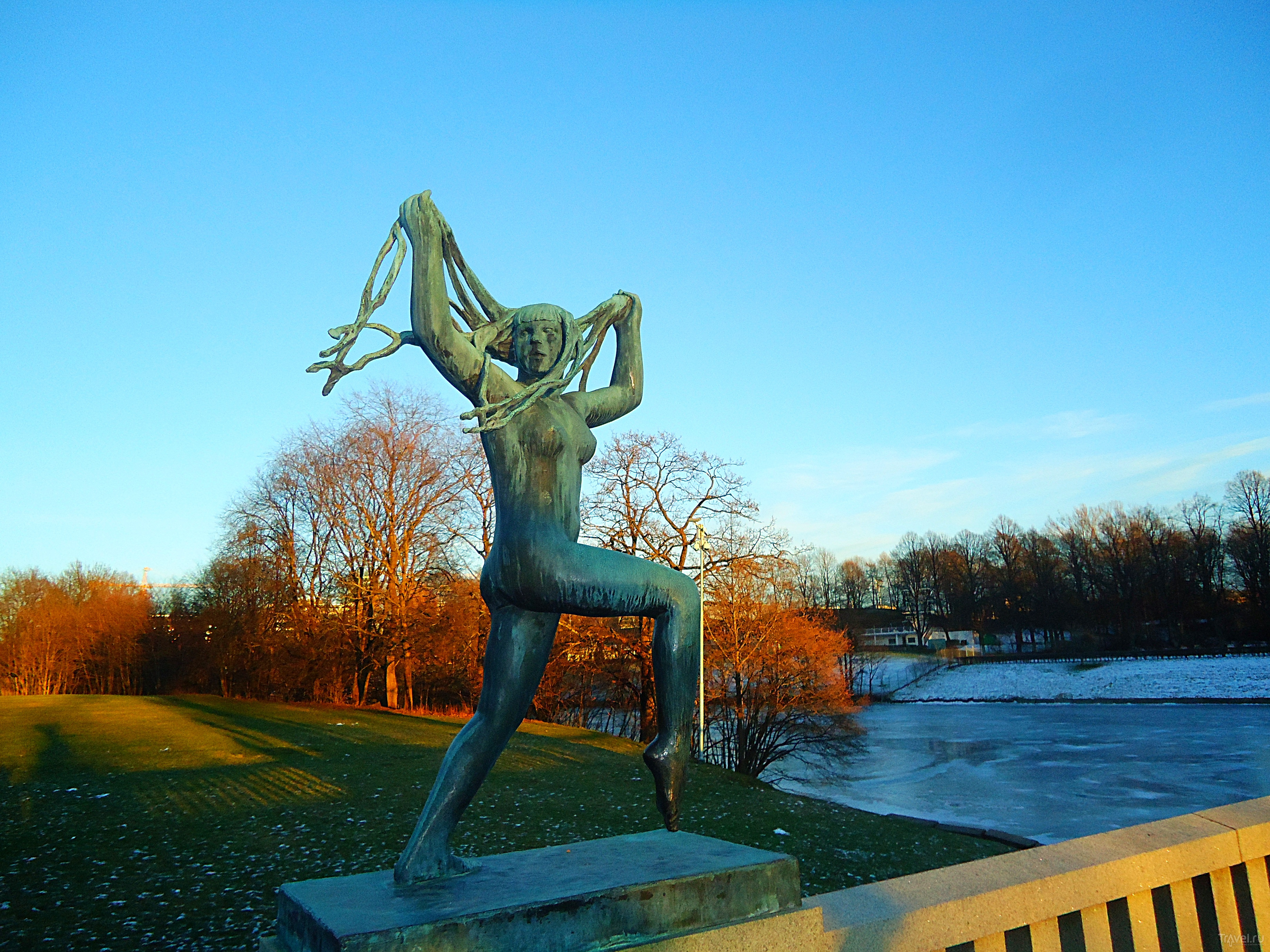Осло - зимняя сказка / Норвегия