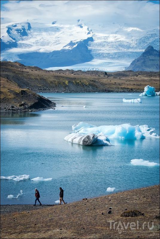 Исландия, ледниковая лагуна Jokulsarlon / Фото из Исландии