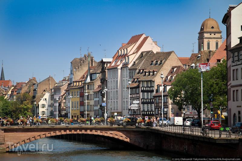 Страсбург. Транспорт и городские детали / Фото из Франции
