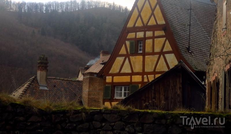 Кайзерсберг - родина Альберта Швейцера / Фото из Франции