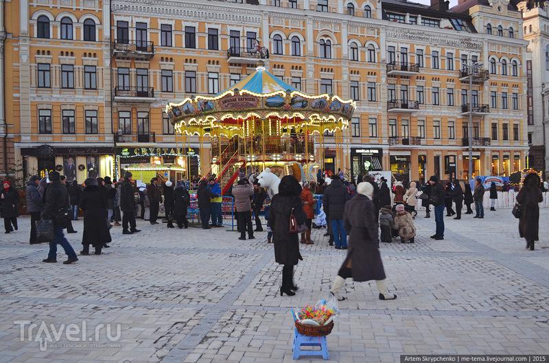 Киев - Праздничная Софиевская площадь / Украина