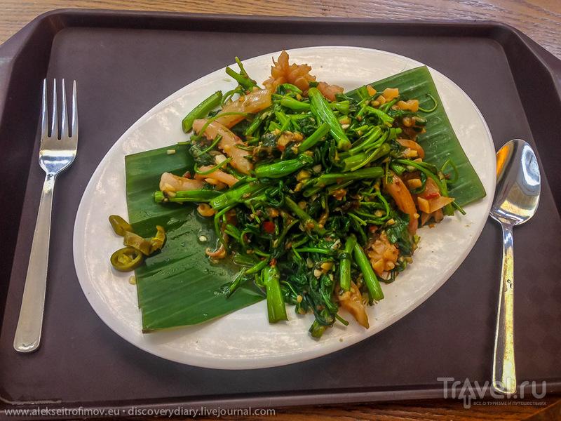 Сингапурские кулинарные впечатления / Сингапур