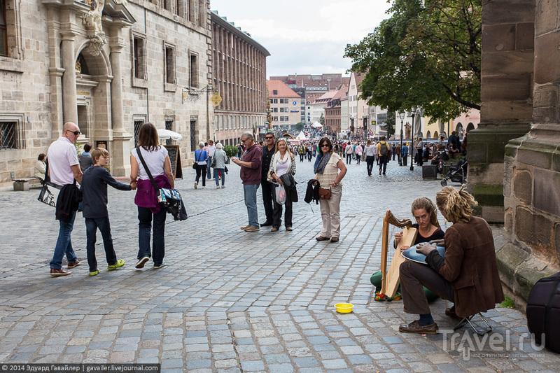 Нюрнберг - основа Средней Франконии / Фото из Германии