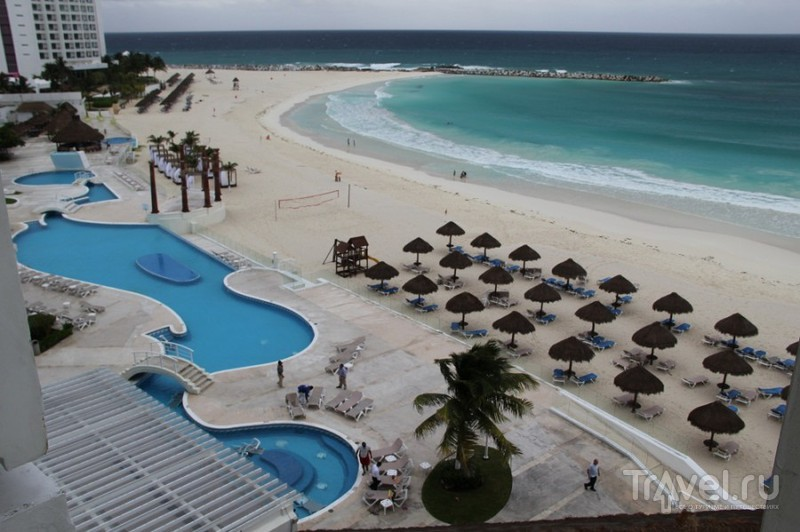 Новый год в США и Мексике, обзор посещенных отелей / Мексика