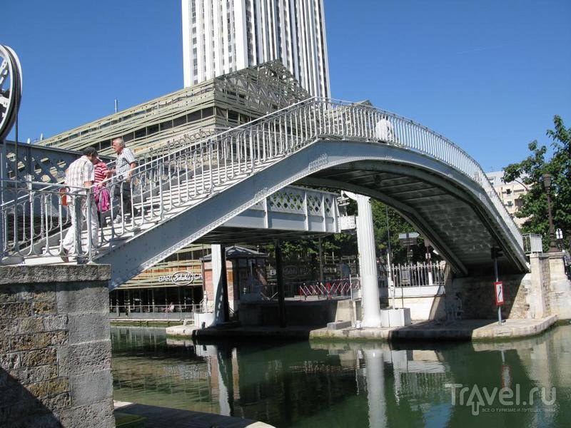 Каналы и шлюзы Сен-Мартен, Париж / Франция