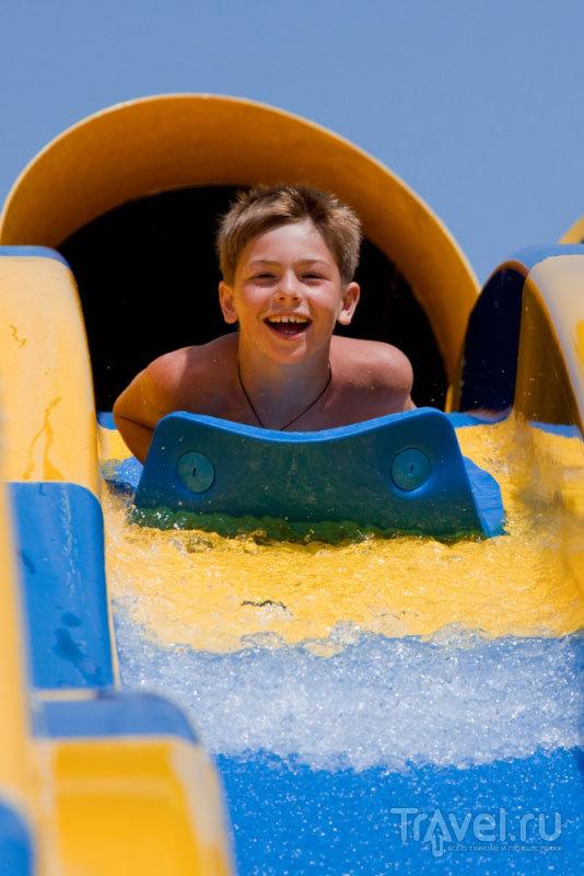 """В аквапарке """"Золотой пляж"""" есть развлечения и для детей, и для взрослых"""
