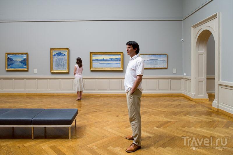 В Музее искусства и истории в Женеве