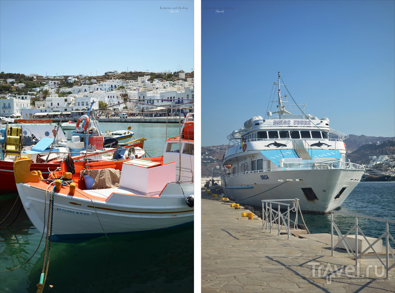 Остров Миконос. Хора. Греция, Июль 2014 / Фото из Греции