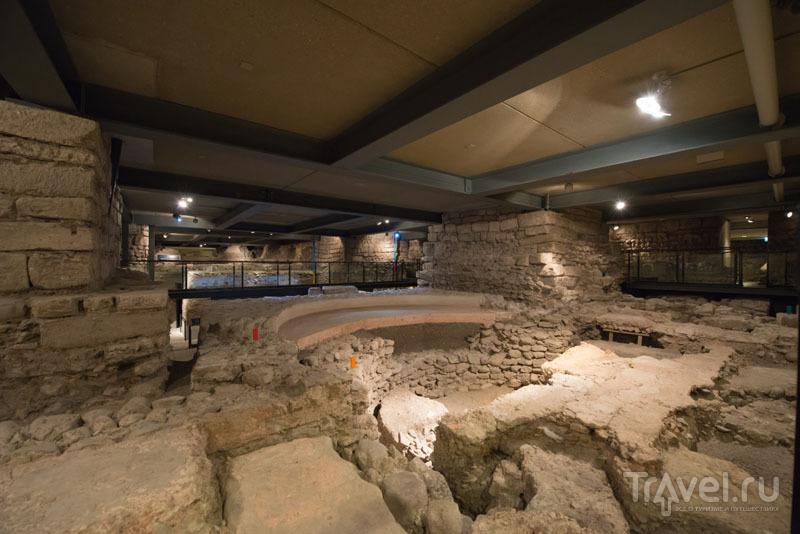 Археологический музей в Соборе Святого Павла