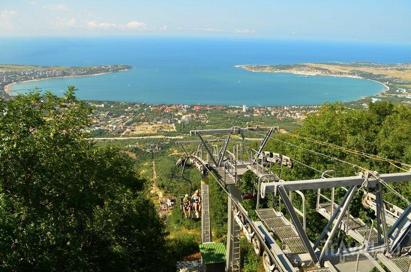 Вид с 640-метровой высоты