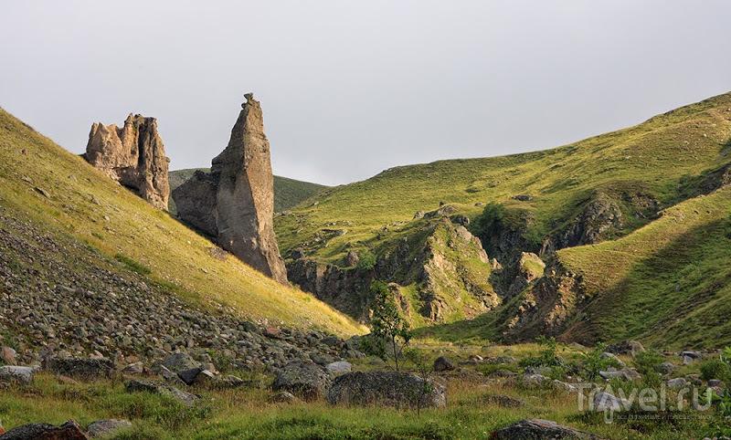 Урочище Джилы-Су. Долина Замков / Фото из России