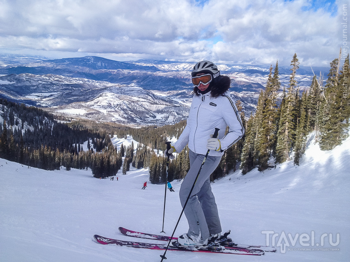 Горные лыжи. Скалистые горы США vs. Европейские Альпы / США