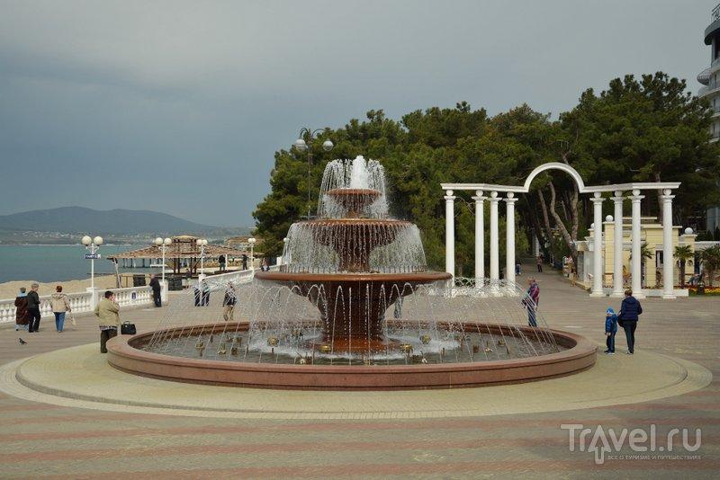Самый известный фонтан Геленджика