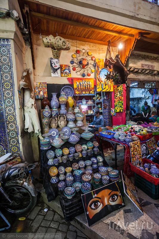 Марокко. Медина города Фес / Марокко