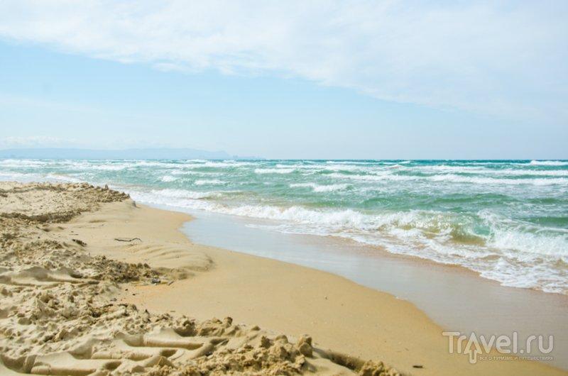 В Витязево мягкий мелкий песок