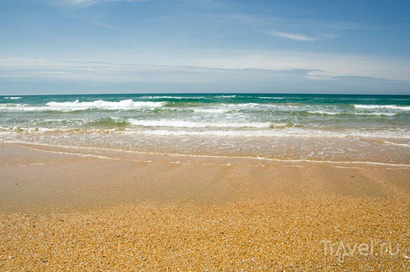Море имеет красивый оттенок